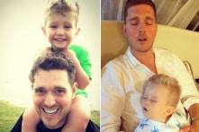 Vợ chồng siêu sao Michael Buble tạm ngưng sự nghiệp để ở bên con trai 3 tuổi bị ung thư