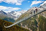 Cầu treo đi bộ dài nhất thế giới Charles Kuonen
