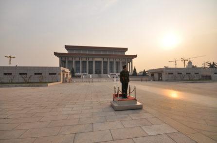 Bóng đen phong thủy tại Quảng trường Thiên An Môn