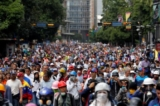 Canh sat Venezuela ban chet nguoi bieu tinh