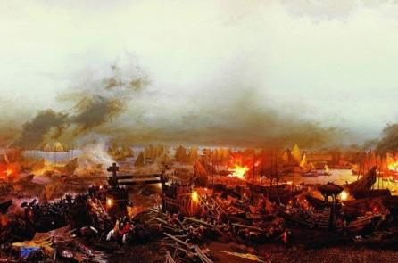 Trận thủy chiến hỏa công bậc nhất sử Việt vào đầu thế kỷ 19