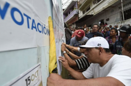 """Hoa Kỳ lên án bầu cử tại Venezuela """"không có tự do và công bằng"""""""