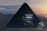 Tranh luận xung quanh 'khoảng không' bí ẩn ở trung tâm kim tự tháp Giza
