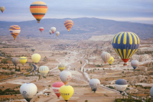 Bay khinh khí cầu ở Cappadocia: Hình như còn hơn cả cổ tích!