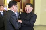 Kim Jong-un gap phai vien Han Quoc
