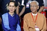 Tổng thống Myanmar, đồng minh thân cận của bà San Suu Kyi, đã từ chức