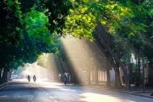 Hà Nội: Mùa hè bình yên đang về (Ảnh)