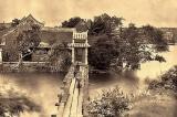 Cầu Thê Húc xưa – Nơi lưu ánh bình minh buổi sớm (Ảnh)