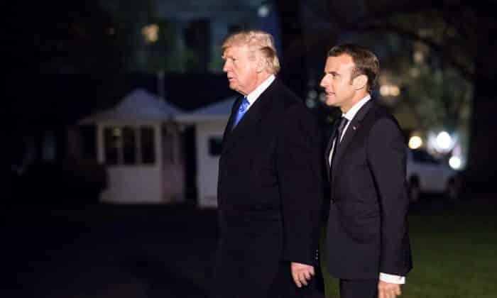 Trump, Macron đồng thuận về khả năng ký thỏa thuận hạt nhân mới với Iran