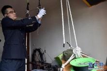 Trung Quốc: Dùng drone giăng dây trên cao để chuyển iPhone lậu