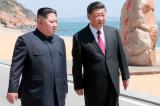 Ông Tập Cận Bình chúc mừng Kim Jong Un tái đắc cử