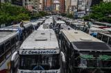 Venezuela: 90% giao thông công cộng đường bộ không hoạt động