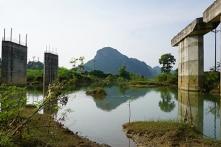Thanh Hoá: Dự án cầu 55 tỷ đồng bỏ hoang nhiều năm