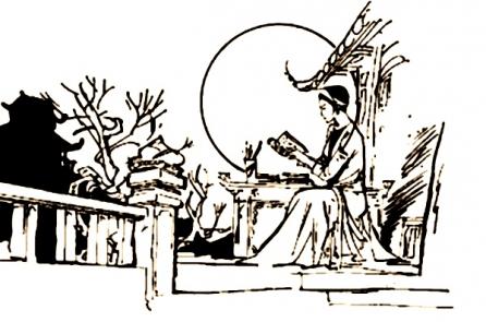 Người Việt xưa dạy phụ nữ đọc sách và có trách nhiệm quốc dân
