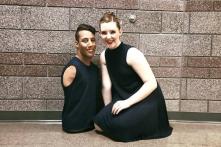 Cậu bé khuyết tật cả chân lẫn tay vẫn làm vũ công nhảy