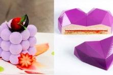 Những chiếc bánh ngọt hình học độc đáo của nữ nghệ nhân Ukraine