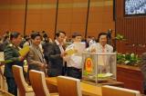 Những lá phiếu của Đại biểu Quốc hội