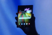 Samsung chính thức giới thiệu smartphone màn hình gập