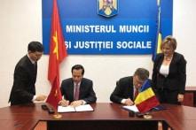 Việt Nam ký kết xuất khẩu lao động sang Rumani, lương 600 – 1.200 USD/tháng