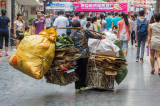 gánh hàng; người nghèo Trung Quốc; người Trung Quốc