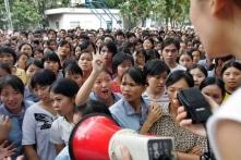 Kinh tế Trung Quốc đi xuống, kháng nghị quy mô nhỏ bùng nổ nhiều nơi