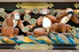 Truy tìm nguồn gốc hình tượng ba chú khỉ thông thái