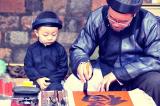 Học thư pháp có lợi cho sự trưởng thành của trẻ