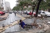 Hà Nội dự kiến lát đá vỉa hè mới cho gần 300 tuyến phố