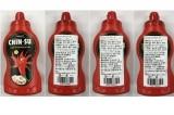 Nhật thu hồi hơn 18.000 chai tương ớt Chin-su vì chứa phụ gia không dùng ở Nhật