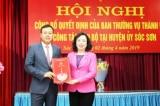 Con trai nguyên Bí thư Hà Nội làm Phó bí thư huyện