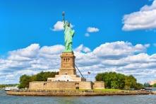 Tượng Nữ thần Tự do ở Mỹ nguyên ban đầu không phải màu xanh
