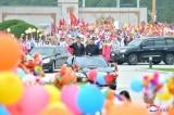 Trung-Triều phô trương quan hệ đồng minh khi ông Tập thăm Bình Nhưỡng
