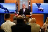 Mỹ cho rằng Iran tấn công vào hai tàu chở dầu tại Vịnh Oman