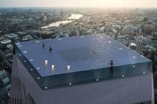 """Bể bơi """"vô cực"""" 360 độ sẽ được xây ở London"""