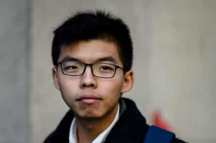 Joshua Wong: Chúng tôi biểu tình vì tự do cho HK khỏi độc tài Trung Quốc tàn bạo