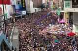 430.000 người Hồng Kông tiếp tục diễu hành phản đối luật dẫn độ hôm 21/7