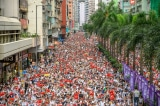 """Cư dân mạng Đại lục """"vượt tường"""" ủng hộ người Hồng Kông"""