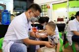 Thêm 24 trẻ được chuyển bệnh viện tuyến trên làm xét nghiệm thủy ngân