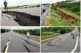 Ban QLDA: Đường 250 tỷ mới làm đã sụt lún do nền địa chất yếu