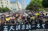 Hơn 350.000 người Hồng Kông diễu hành ngày 20/10