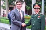 Bộ trưởng Quốc phòng Mỹ Mark Esper thăm Việt Nam