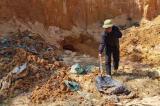 Đã xác định nghi phạm đổ chất thải nguy hại tại núi Sú (Sóc Sơn)