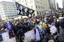 380.000 người Hồng Kông diễu hành chiều ngày 1/12