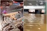 Trung Quốc: Lở mặt đất tại ga tàu điện ngầm ở Hạ Môn