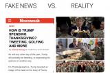 Newsweek sa thải phóng viên viết sai về lịch trình Lễ Tạ ơn của TT Trump