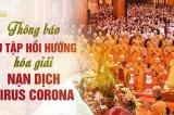 Làm rõ việc chùa Ba Vàng thuyết pháp hóa giải dịch virus corona