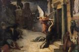 """Niềm tin về nguyên nhân của đại dịch qua bức """"Đại dịch ở Rome"""""""