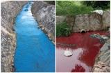 Bình Dương: Nước tại suối Cây Sao hết xanh lại đỏ