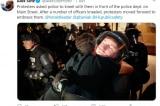 Biểu tình ở Mỹ: Những hành động đẹp của cảnh sát và người biểu tình