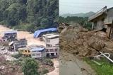 Hồ Bắc, Quý Châu sạt lở núi do mưa lớn, nhiều người bị chôn vùi